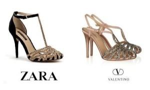 Zara vs Valentino