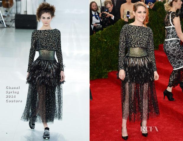 Kristen Stewart in Chanel Couture