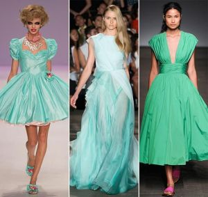 Lucite Green on runway