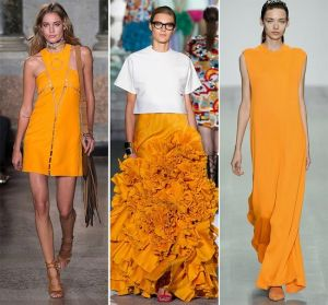 Tangerine on runway