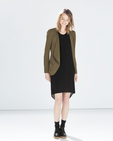 Giacca-marrone-Zara-autunno-inverno-2014-2015